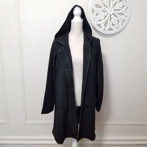 Eileen fisher size M hooded zip up jacket